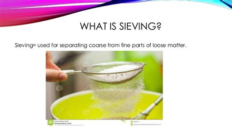 what is the use of ways of separating mixtures