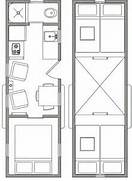 Living Small On Pinterest Tiny Houses Tiny Homes And Small Houses Un Piccolo Grande Loft 4 Ambienti In Meno Di 40 Mq Small House Plans With Loft 1971 Small House Floor Plans With Loft 900 City Loft Floor Plan OLPOS Design
