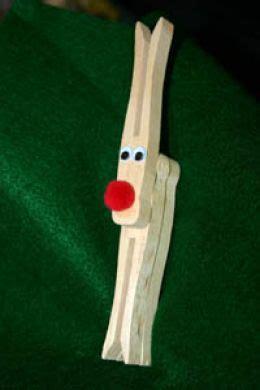 clothespin reindeer ornament tutorials guide patterns