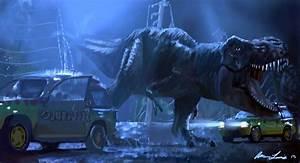 Jurassic park T. Rex by lewisman117 on DeviantArt