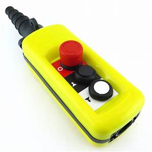 Xac A2913 Hoist Crane Push Button Pendant Station Pb