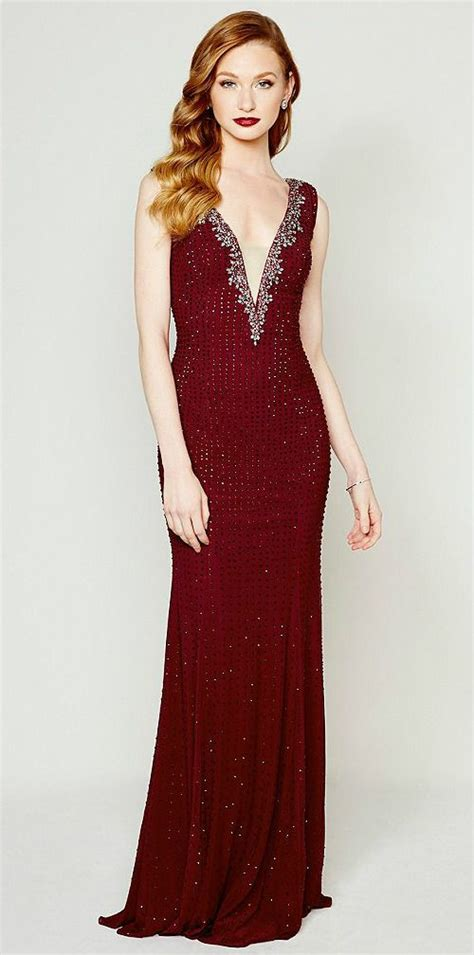 wine colored evening gown 308 best formal gowns images on aircraft