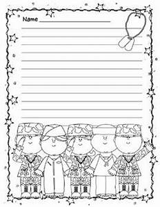 free printable veterans day writing paper primary lined writing paper