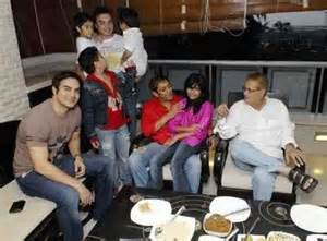 salman khan home interior picture from inside salman khan s house celebrating eid with his nephews niece and family