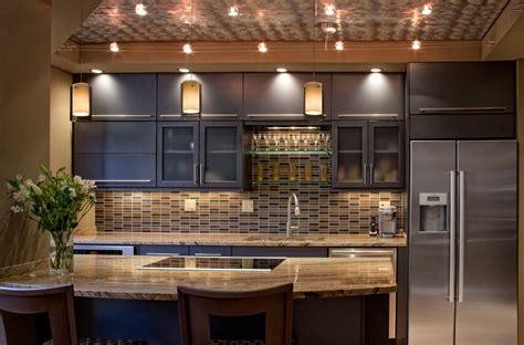 Kitchen Counter Storage Ideas - kitchen track lighting 4 ideas kitchen design ideas blog