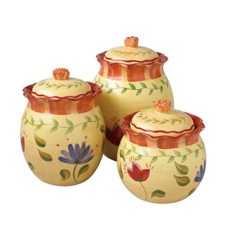 Decorative Kitchen Canisters by Kitchen Canisters Designs For Modern Living Buungi