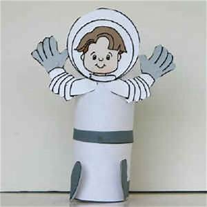 Crafts for Kids - Astronaut Craft