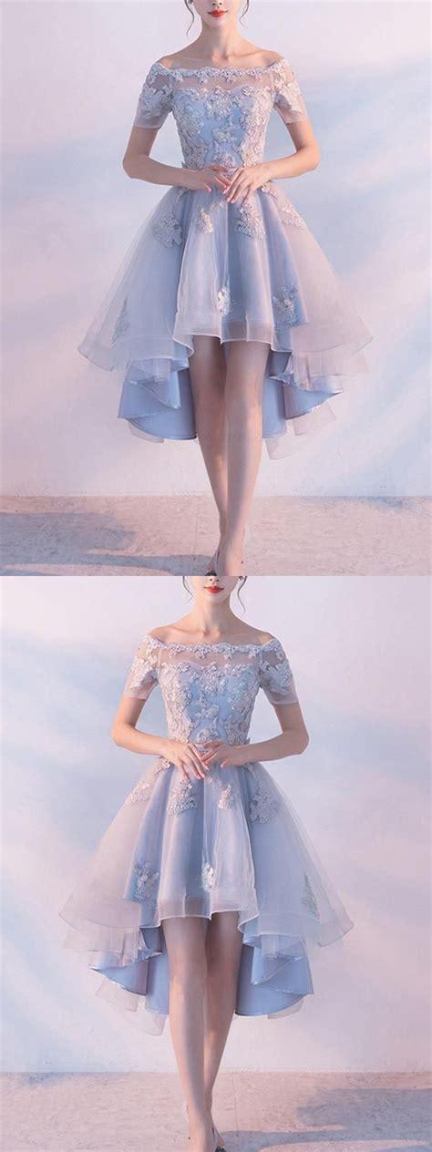 Prom Dresses Lace, Prom Dresses Blue, Light Blue Prom ...