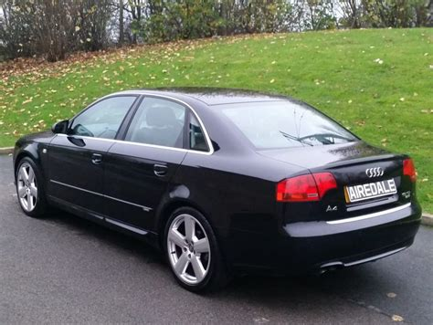 2007 Audi A4 by 2007 Audi A4 1 9 Tdi S Line 4dr Saloon Airedale Cars