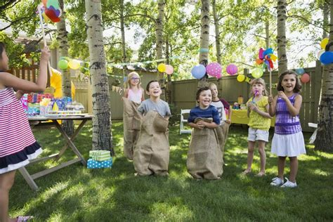 Plan Outdoor Obstacle Games For A Kids' Birthday Party