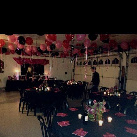 garage party ideas  pinterest garage party