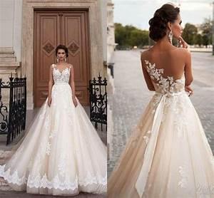 stunning 2016 milla nova sheer castle wedding dresses ball With castle wedding dress