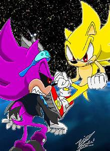 Super Sonic VS Super Scourge by 5courgesbestbuddy on ...