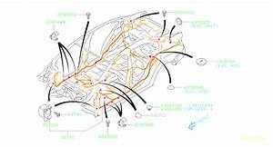 2013 Subaru Impreza Clamp  Main  Harness  Wiring