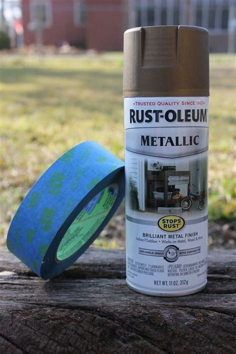 rust oleum metallic closest match  delta champagne