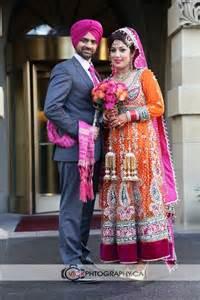 Punjabi Wedding Couple