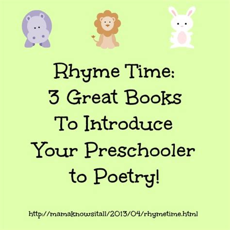rhyme time my 3 favorite books of poetry for preschoolers 721 | rhyme time