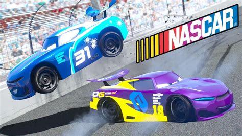 cars  danny swervez nascar racing cars  nascar race