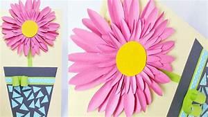 Geburtstagskarte Basteln Einfach : diy geburtstagskarten selber basteln blumen 3d karten leicht mit kindern f r frauen anleitung ~ Orissabook.com Haus und Dekorationen