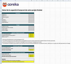Calcul Cout Credit : feuille de calcul capacit d 39 emprunt excel ~ Medecine-chirurgie-esthetiques.com Avis de Voitures