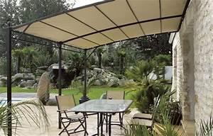 deco tonnelle jardin With idee de decoration de jardin exterieur 3 deco tonnelle mariage
