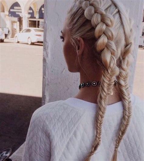 fishtail braid top  beautiful fishtail braids
