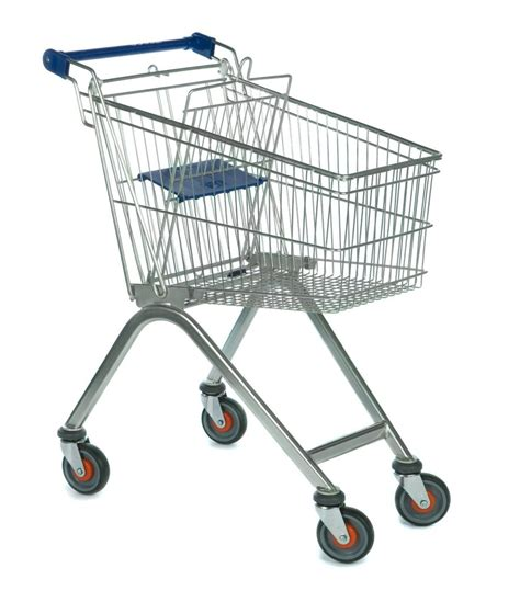 Compact Shopping Trolley with child seat | Shopping ...