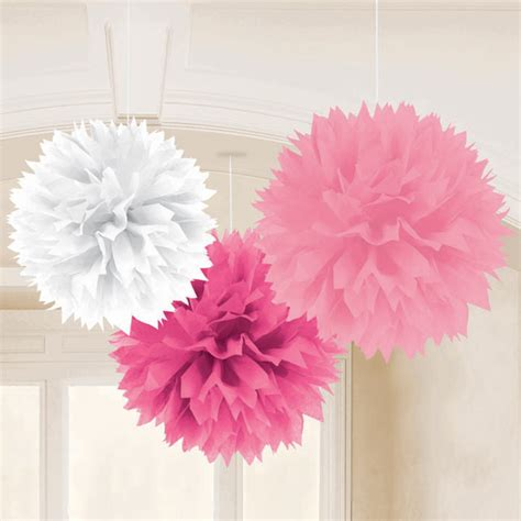 parties4less net supplies favors - Pink Hanging Decorations