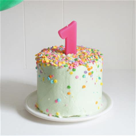 Banana Baby Birthday Smash Cake Sugary Ery