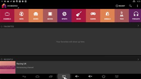 free tv apps for android mobdro tv free for android
