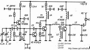 radio circuits blog transmitter circuits collection With simple vfo circuit