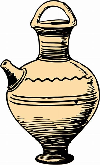 Pottery Clipart Ceramic Clip Cliparts Animated Ancient