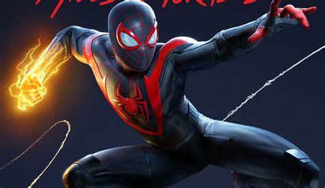 marvels spider man miles morales ps cover art revealed
