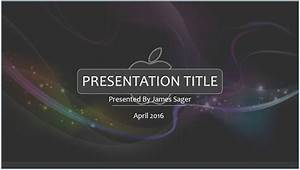 free 3d apple powerpoint template 8391 sagefox With power point templates for mac