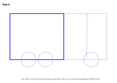 Learn How To Draw Transport Truck For Kids (vehicles) Step