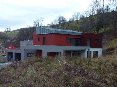 de kono maison brique bois toit plat en alsace