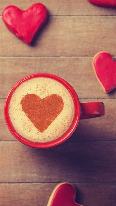 See more ideas about disney wallpaper, cartoon wallpaper, cute disney wallpaper. Sweet Valentines Day Coffee Heart