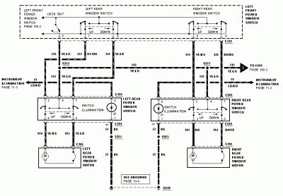 Power Window Wiring Diagram Expedition Ford