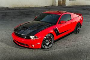 This 2012 Race Red Roush Ford Mustang Is a Real Corvette Killer - Hot Rod Network