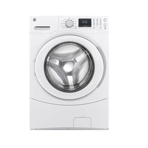 ge  cu ft front load washer  white energy star gfwnjww  home depot