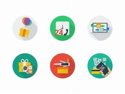 Commerce Icons Icon Flat Dribbble Sets Shopping