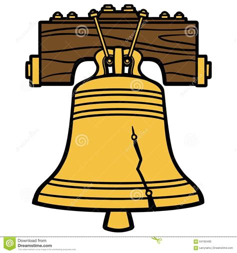 Liberty Bell Clipart Liberty Bell Stock Vector Image 64160490