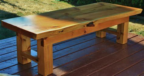 diy outdoor cedar coffee table plans plans free