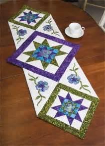 Star Table Runner Quilt Pattern