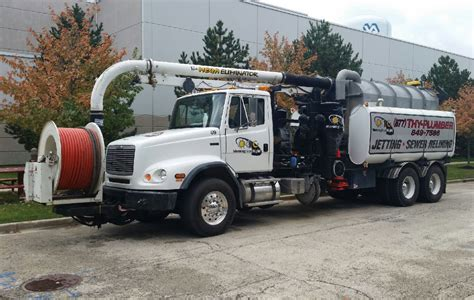norridge il jetting pumping sewer vacuum truck water