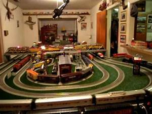 O Gauge Fast Track Layout  Part 2