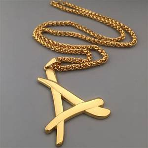aliexpresscom buy 2017 newest superstar alumni necklace With gold chain with letter k