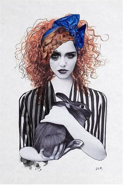 Rome Jenny Liz Illustrations Mujer Ilustraciones Moderna
