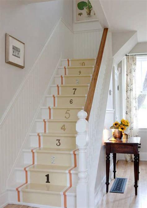 ideas diy  decorar las escaleras