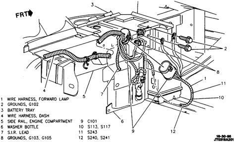 1997 Gmc Suburban Headlight Wiring Harnes by 1996 Chevy Cavalier No Low Beam Headlights Bulbs